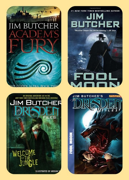 Jim Butcher. Collection of works