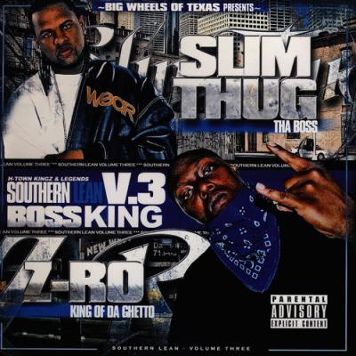 Z-Ro; Slim Thug - Southern Lean, Vol. 3